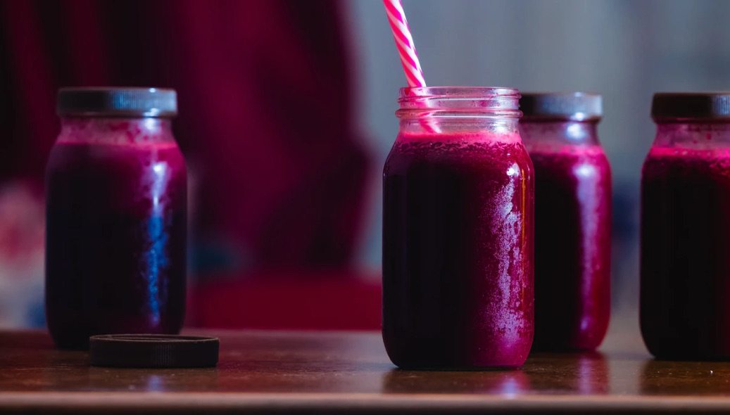 Photo of red juice