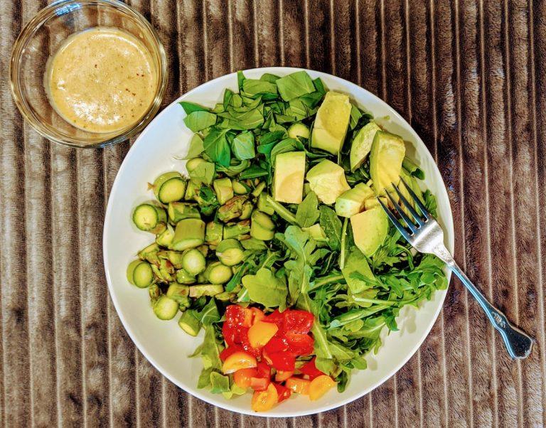 Four Green Salad